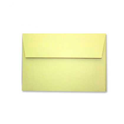 YELLOW C6 ENVELOPES 114mm x 162mm Self Adhesive Peal and Seal