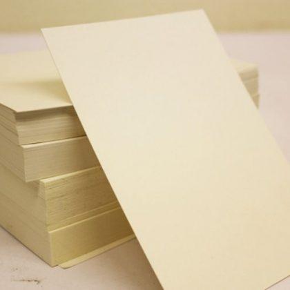 A6 CREAM – Plain Everyday Craft Card Stock